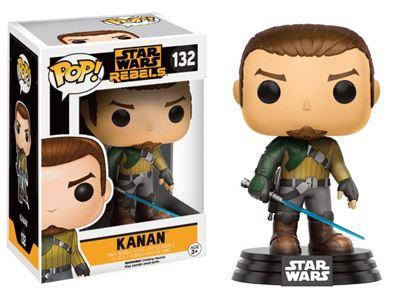 Picture of Star Wars Rebels POP! Vinyl Cabezón Kanan 9 cm