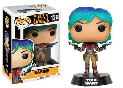 Picture of Star Wars Rebels POP! Vinyl Cabezón Sabine 9 cm