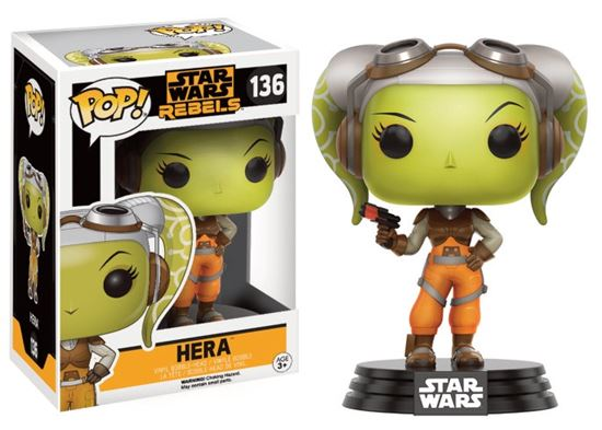 Picture of Star Wars Rebels POP! Vinyl Cabezón Hera 9 cm
