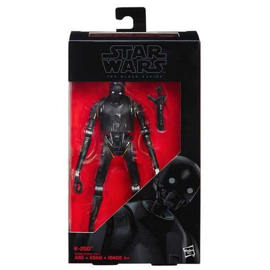 Picture of Star Wars Rogue One Black Series Figuras K-2SO