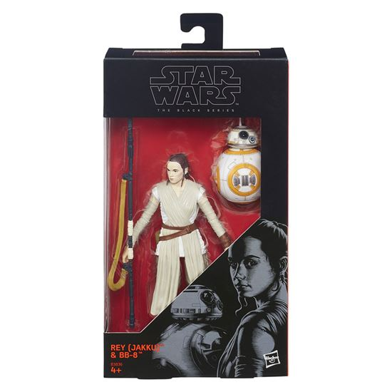 Picture of Star Wars Episode VII Black Series Figuras 15 Rey (Jakku) and BB-8  cm 2016