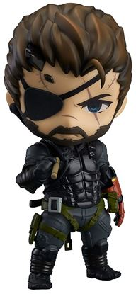 Picture of GOODSMILE COMPANY NENDOROID 565 VENOM SNAKE: SNEAKING SUIT VER.