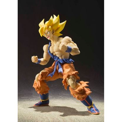 Imagen de Dragon Ball Super Figura S.H. Figuarts Super Saiyan Goku Warrior Awakening Ver. 17.5 cm