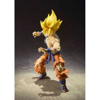 Foto de Dragon Ball Super Figura S.H. Figuarts Super Saiyan Goku Warrior Awakening Ver. 17.5 cm