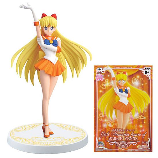 Picture of SAILOR MOON BANPRESTO - MINAKO SAILOR VENUS GIRLS MEMORIES VER.