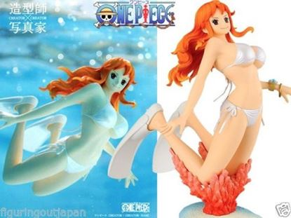 Picture of One Piece Nami swimsuit bikini Banpresto Creator x Creator