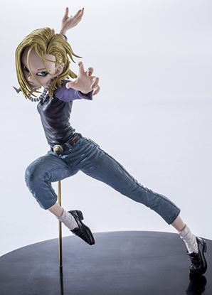 Picture of FIGURAS BANPRESTO DRAGON BALL ANDROID N º18 15 CM