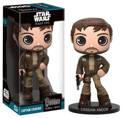 Picture of Star Wars Rogue One Wacky Wobbler Cabezón Cassian Andor 15 cm
