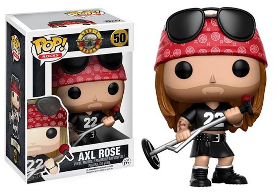 Picture of Guns N´ Roses POP! Rocks Vinyl Figura Axl Rose 9 cm