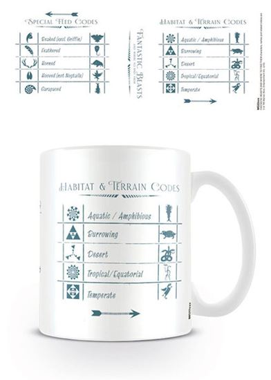Picture of TAZA HP FANTASTIC BEASTS CODES