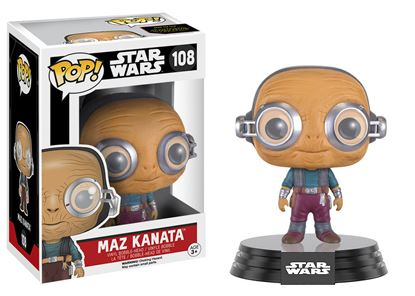 Picture of Star Wars Episode VII POP! Vinyl Cabezón Maz Kanata 9 cm