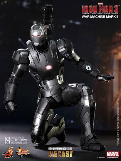 Picture of Iron Man 3 Figura MMS Diecast 1/6 War Machine Mark II 30 cm