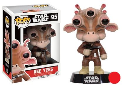 Picture of Star Wars POP! Vinyl Cabezón Ree Yees Limited Edition 9 cm