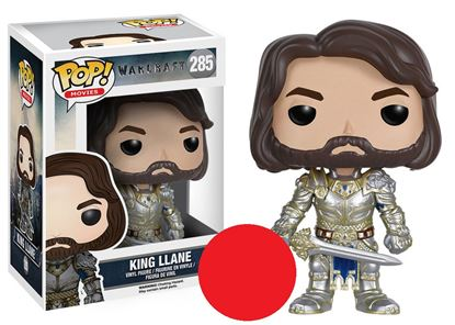 Picture of Warcraft El Origen POP! Movies Vinyl Figura King Llane 9 cm