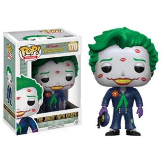 Picture of DC Comics Bombshells POP! Heroes Vinyl Figura Joker with Kisses 9 cm
