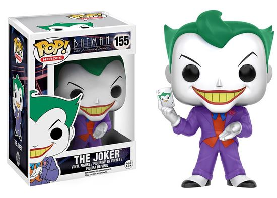 Picture of Batman The Animated Series POP! Heroes Figure The Joker 9 cm