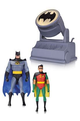 Picture of Batman The Animated Series: Batman y Robin con Batseñal