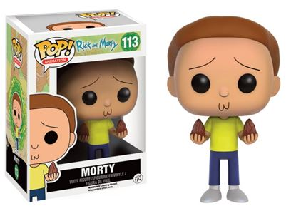 Imagen de Rick y Morty POP! Animation Vinyl Figura Morty 9 cm