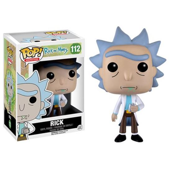 Picture of Rick y Morty POP! Animation Vinyl Figura Rick 9 cm