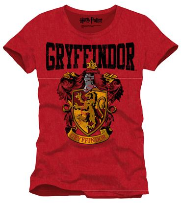 Picture of Harry Potter Camiseta Gryffindor Crest Talla L