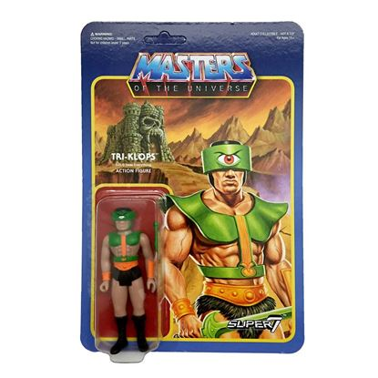 Picture of Masters del Universo ReAction Figura Tri-Klops 10 cm