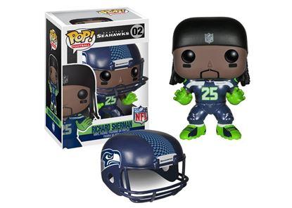 Picture of NFL POP! Football Vinyl Figura Richard Sherman (Seattle Seahawks) 9 cm