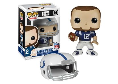 Picture of NFL POP! Football Vinyl Figura Andrew Luck (Colts) 9 cm
