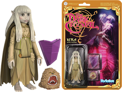 Picture of Cristal Oscuro ReAction Figura Kira & Fizzgig 10 cm
