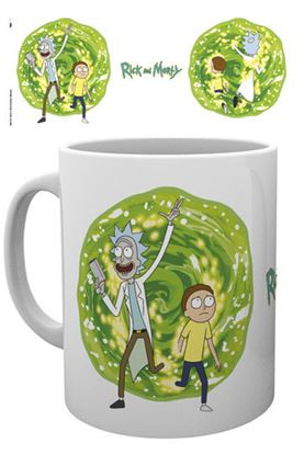 Picture of Rick y Morty Taza Portal