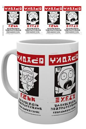 Picture of Rick y Morty Taza Wanted