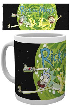 Picture of Rick y Morty Taza Logo