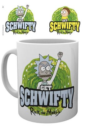 Picture of Rick y Morty Taza Get Schwifty