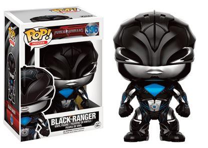 Imagen de Power Rangers POP! Movies Vinyl Figura Black Ranger 9 cm
