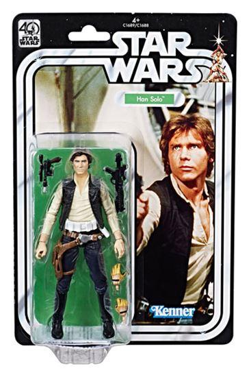 Foto de Star Wars 40th Anniversary Black Series Figuras 15 cm Han Solo