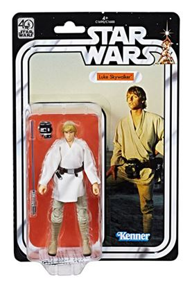 Imagen de Star Wars 40th Anniversary Black Series Figuras 15 cm Luke Skywalker