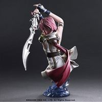 Picture of Final Fantasy XIII Static Arts Busto Lightning 17 cm