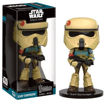 Picture of Star Wars Rogue One Wacky Wobbler Cabezón Scarif Stormtrooper 15 cm