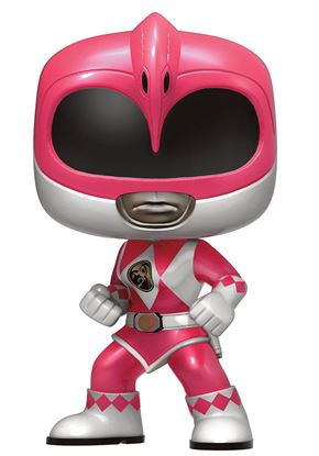 Picture of Power Rangers Figura POP! Television Vinyl Pink Ranger Metallic Limited 9 cm
