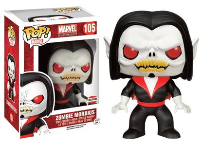 Picture of Marvel Comics POP! Marvel Vinyl Cabezón Zombie Morbius 9 cm