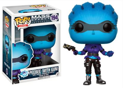 Picture of Mass Effect Andromeda POP! Games Vinyl Figura Peebee (With Gun) 9 cm