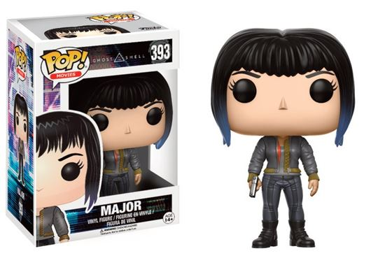 Picture of Ghost in the Shell POP! Movies Vinyl Figura Major (Bomber Jacket) 9 cm