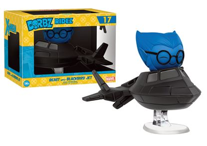 Picture of X-Men POP! Ridez Vinyl Vehículo con Figura Dorbz Beast & Blackbird Jet 14 cm