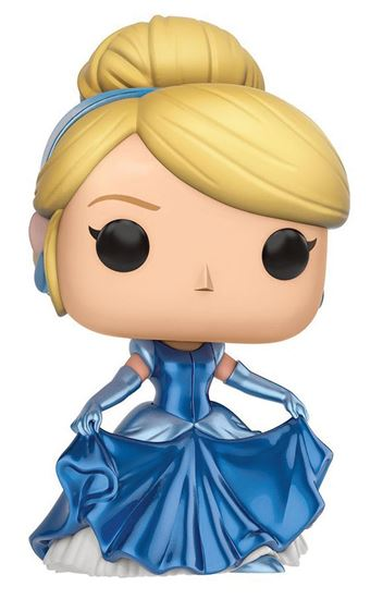 Picture of Cenicienta POP! Disney Vinyl Figura Cinderella (Shimmer Metallic) 9 cm