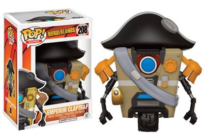 Picture of Borderlands POP! Games Vinyl Figura Emperor Claptrap 9 cm