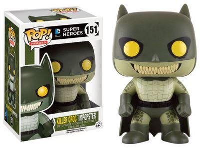 Imagen de DC Comics POP! Heroes Figura Killer Croc Impopster 9 cm