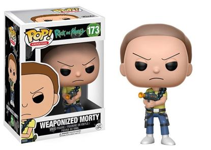 Picture of Rick y Morty POP! Animation Vinyl Figura Weaponized Morty 9 cm
