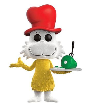 Picture of Dr. Seuss POP! Books Vinyl Figura Sam I Am (Flocked) 9 cm
