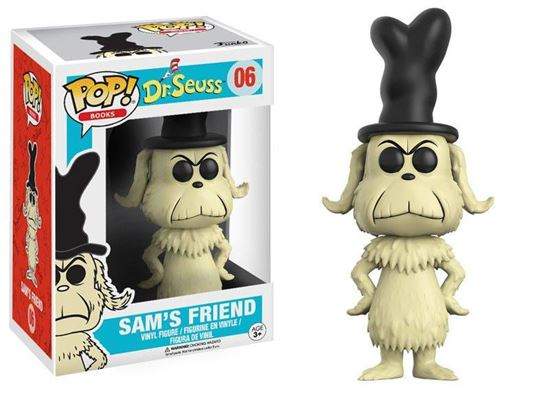 Picture of Dr. Seuss POP! Books Vinyl Figura Sam's Friend 9 cm
