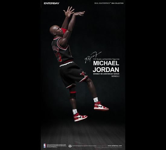 Picture of NBA Collection Figura Real Masterpiece 1/6 Michael Jordan (Black  Edition)