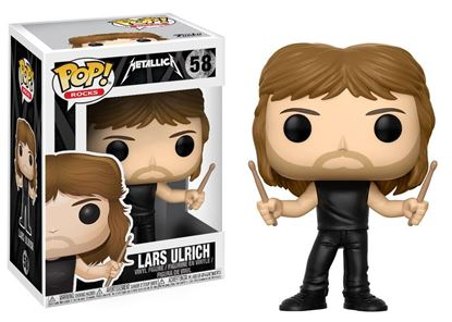 Picture of Metallica POP! Rocks Vinyl Figura Lars Ulrich 9 cm